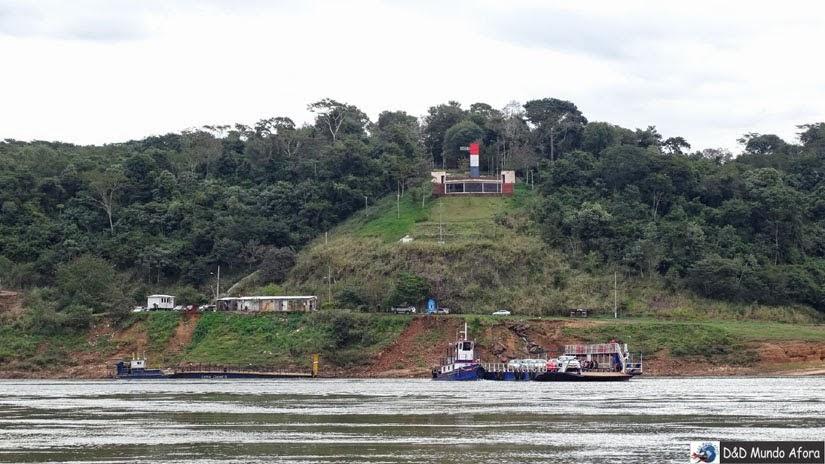 Marco das Três Fronteiras- Paraguai
