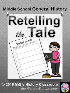 https://www.teacherspayteachers.com/Product/HISTORY-ReTelling-The-Tale-chart-2593593