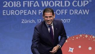 Fernando Hierro Pelatih Baru Timnas Spanyol di Piala Dunia 2018