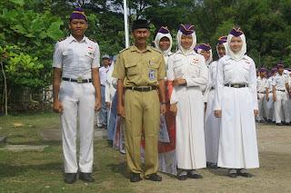Hari Sumpah Pemuda SMK SAKTI Melaksanakannya denga Upacara dan Jalan Sehat