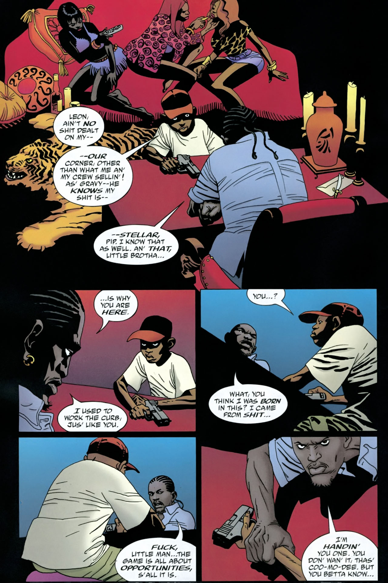 Read online 100 Bullets comic -  Issue #90 - 9