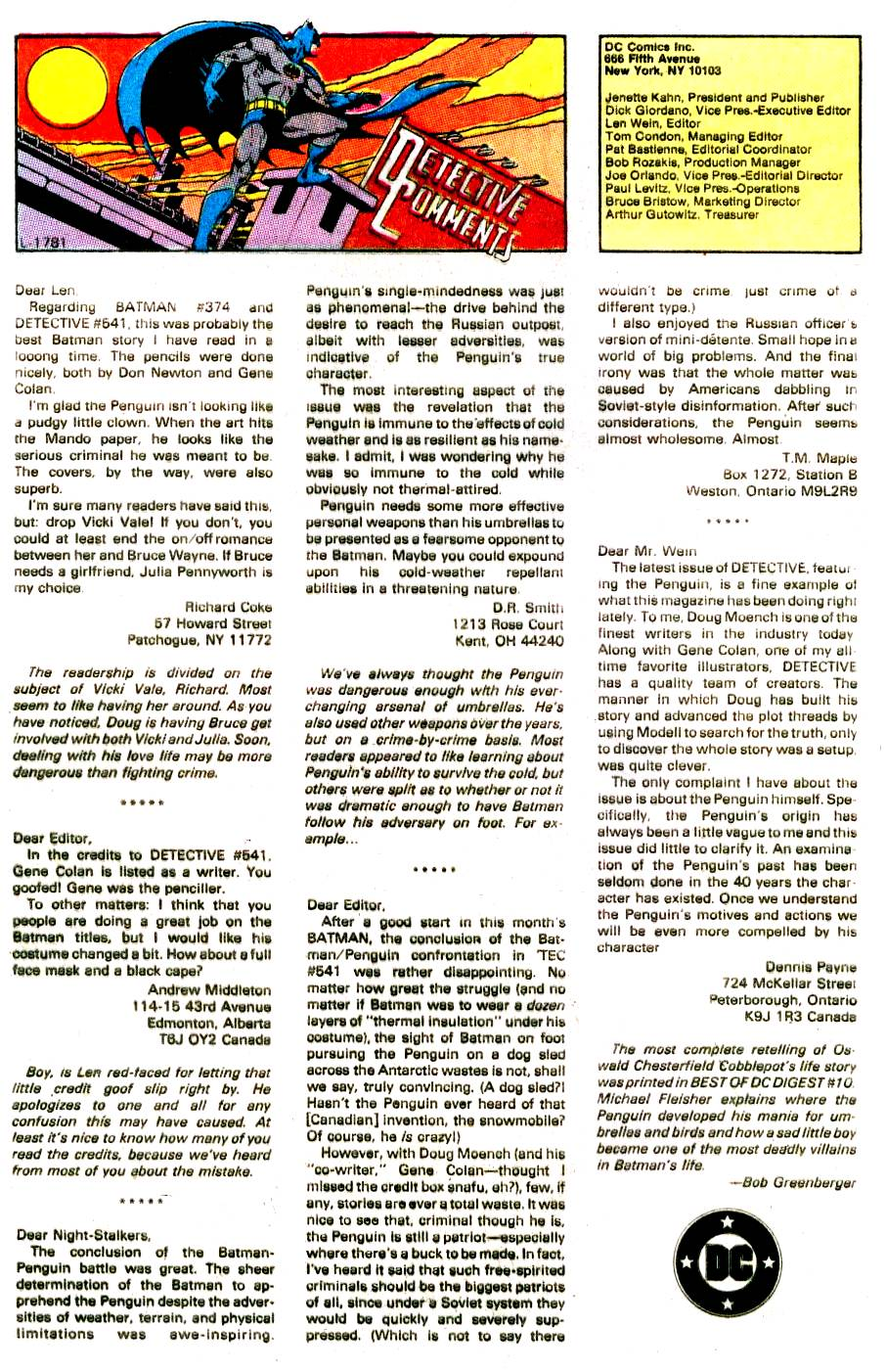 Detective Comics (1937) 545 Page 17