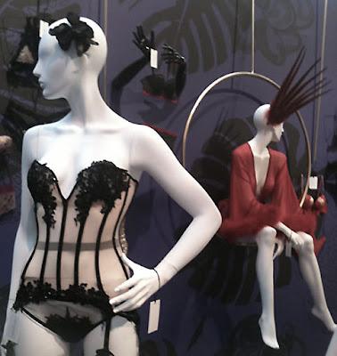 corsetorium lace corset transparent luxury lingerie made in London bespoke corsetry