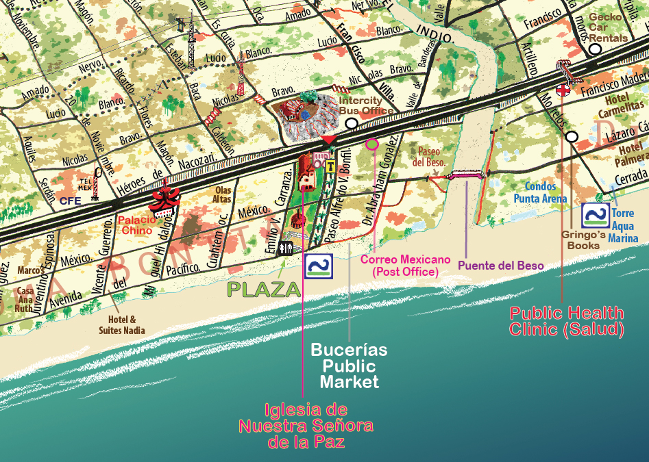 Map World Mouments%0A All pedestrian paths and features are drawn  along with key landmarks and  monuments