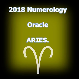 2018 Numerology oracle ARIES Life Path 2