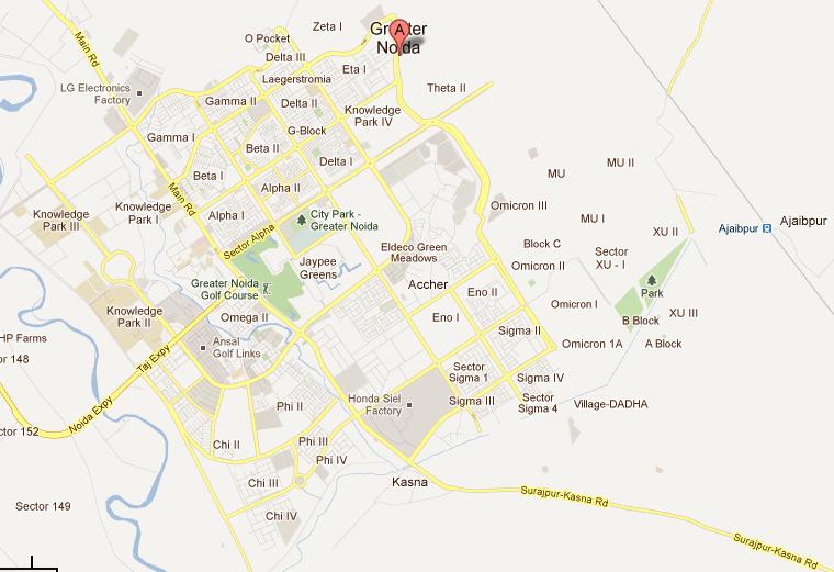 Større Noida BHS-06 Skema større Noida Sector Mu-1-1377