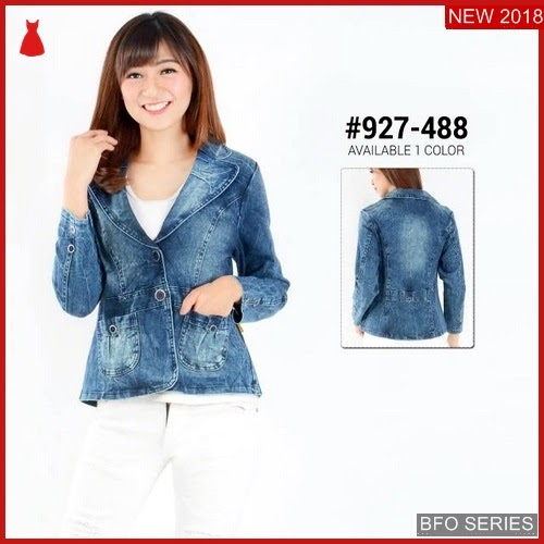 BFO259B34 JAKET Model JEANS ACID Jaman Now FASHION BMGShop