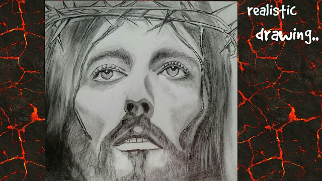 Jesus drawing , greatest painters of all time
