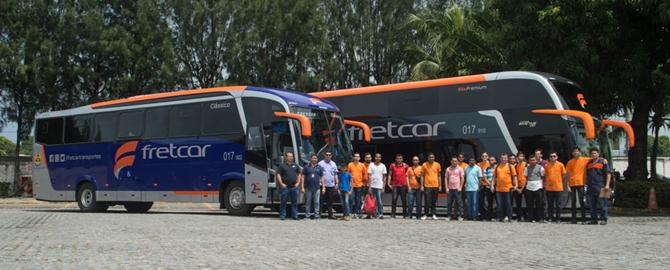 MOB Ceará visita Fretcar para fazer fotos dos DD's