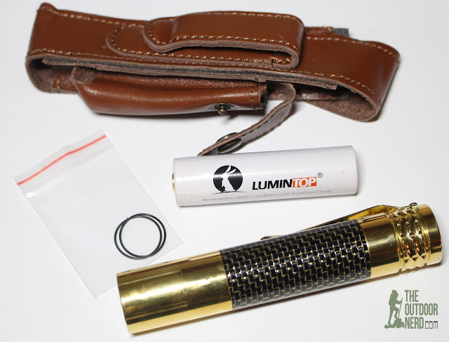 Lumintop Prince (Brass) [1x18650 EDC Flashlight] - In Box 3