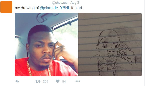 Photos: Nigerian artist Chuuzus churns out more fantastic artwork of Nigerian celebs