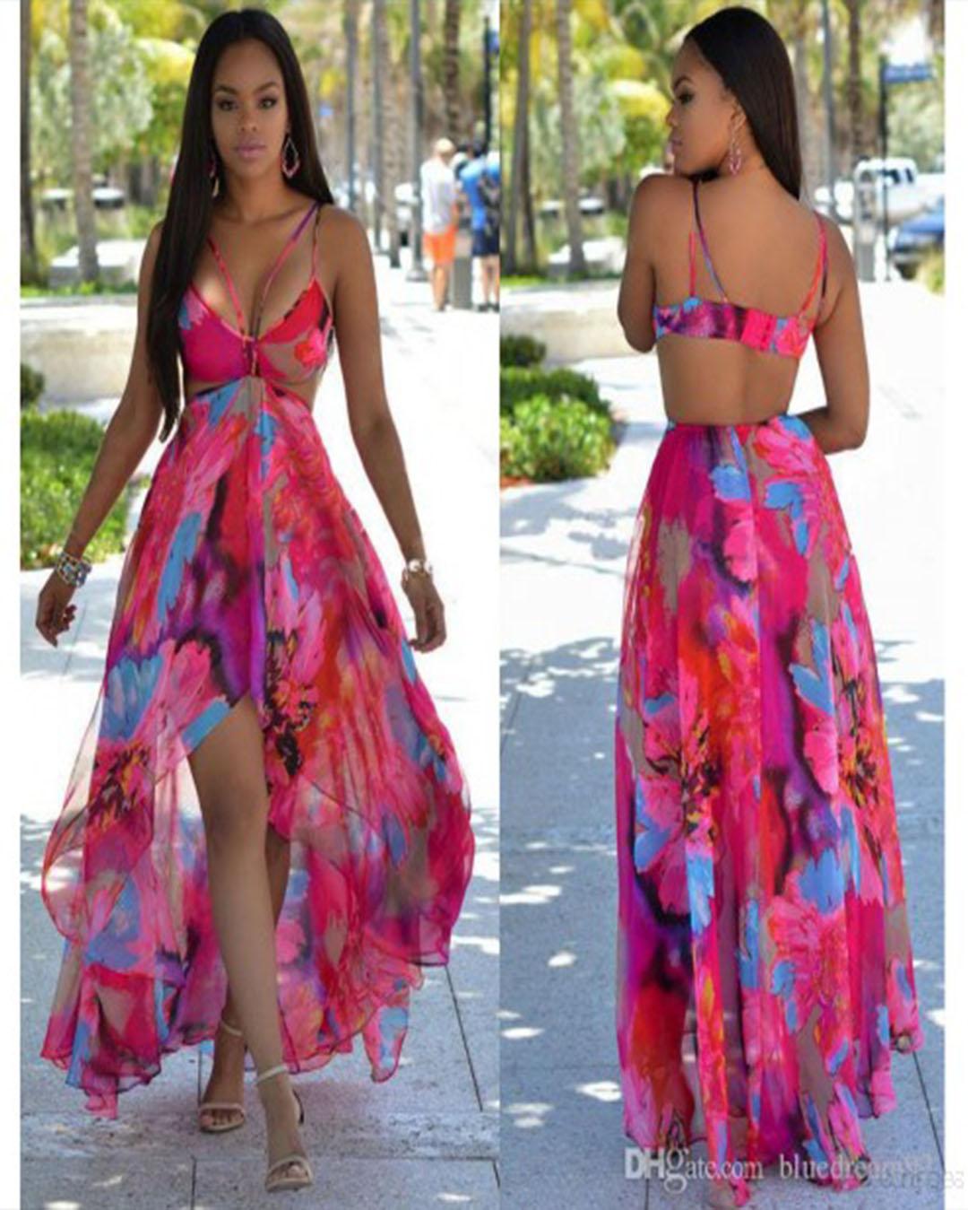 Vestidos Para La Playa Cortos Y Largos Que Están De Moda