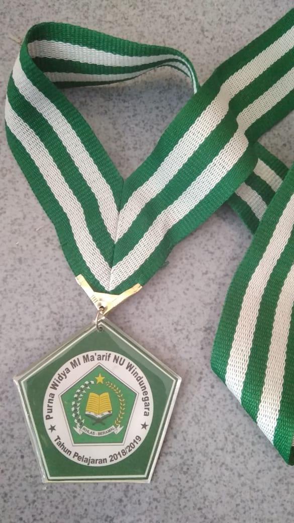 Medali Alumunium