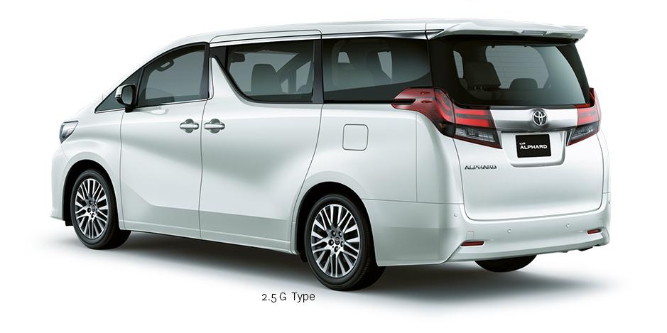 Spesifikasi dan Harga Toyota New Alphard 2 5 G | Toyota