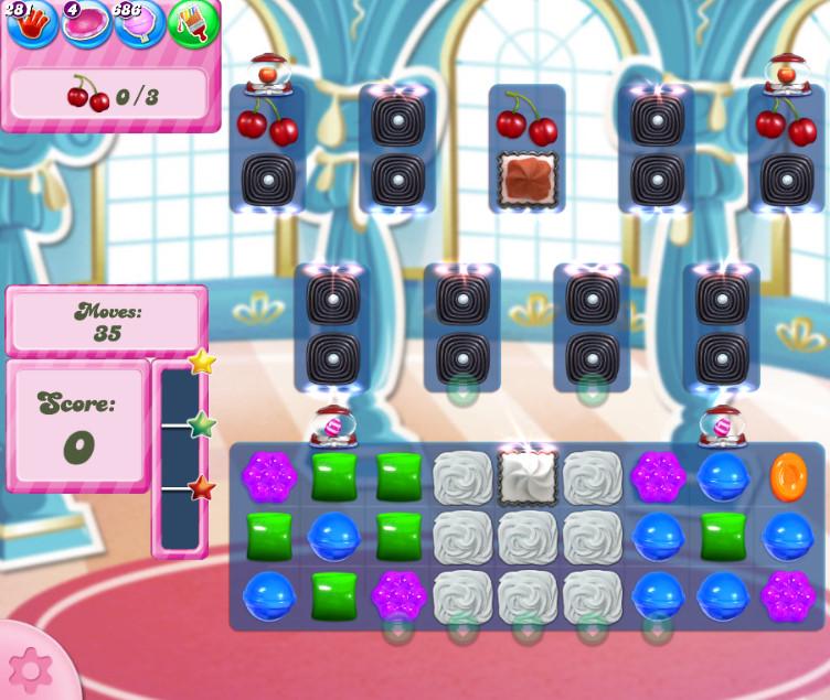 Candy Crush Saga level 2742