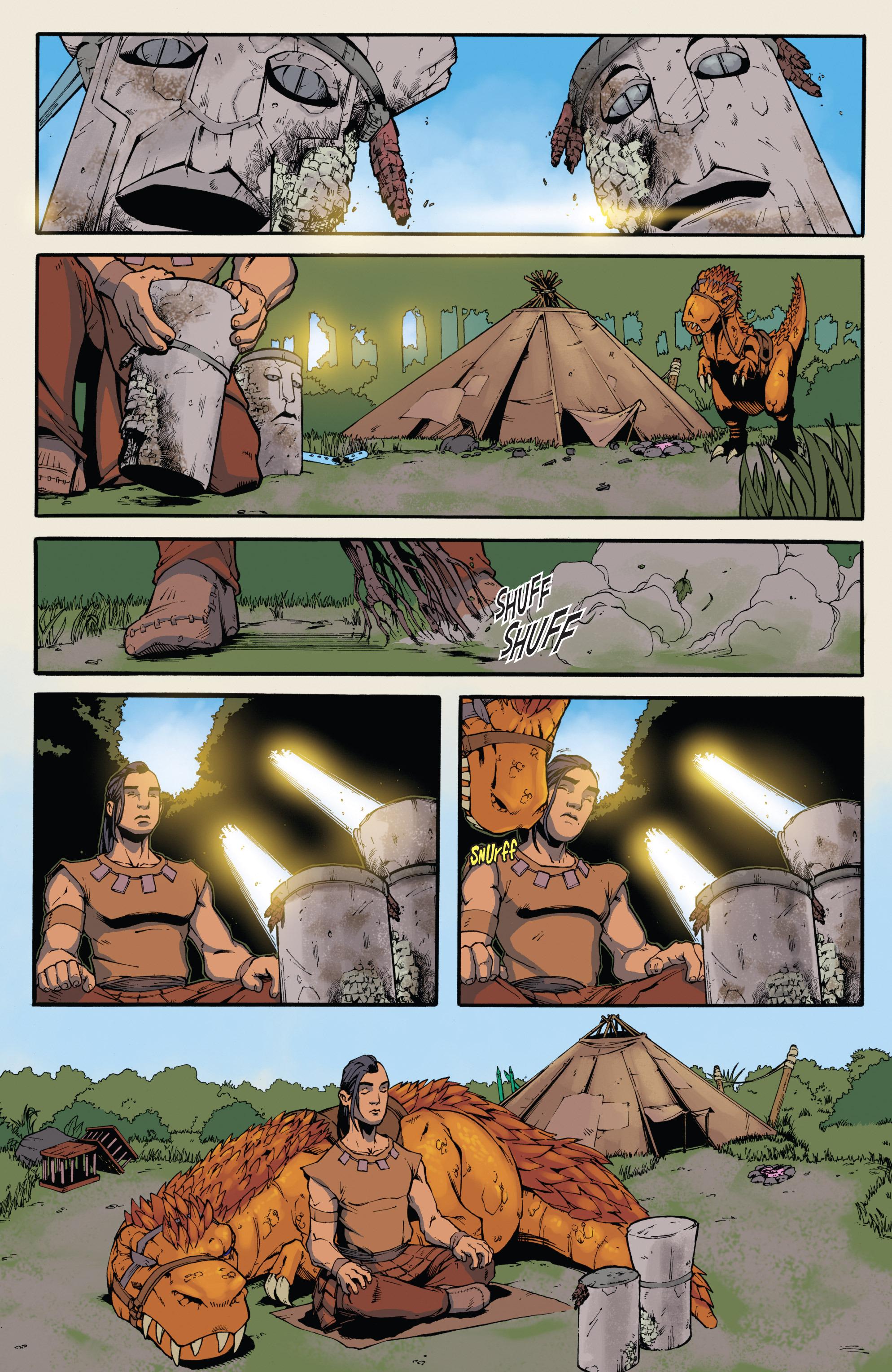 Read online Turok: Dinosaur Hunter (2014) comic -  Issue # _TPB 3 - 16