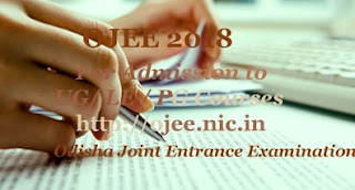 Odisha JEE 2018 : Exam date, Registration, Online Application form, Notification, Eligibility, Important dates, Fee, Exam dates, Exam pattern, Answer key
