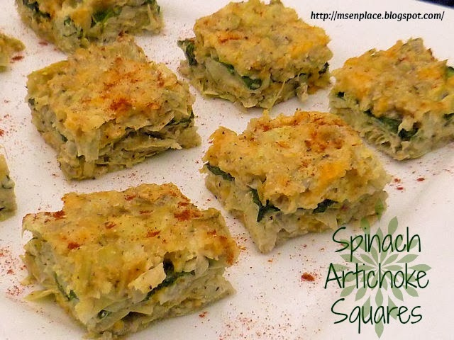 Artichoke Squares