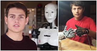 15χρονος από την Καβάλα έφτιαξε με 500 ευρώ Ρομπότ με τεχνητή νοημοσύνη και υποκλίνεται όλος ο πλανήτης