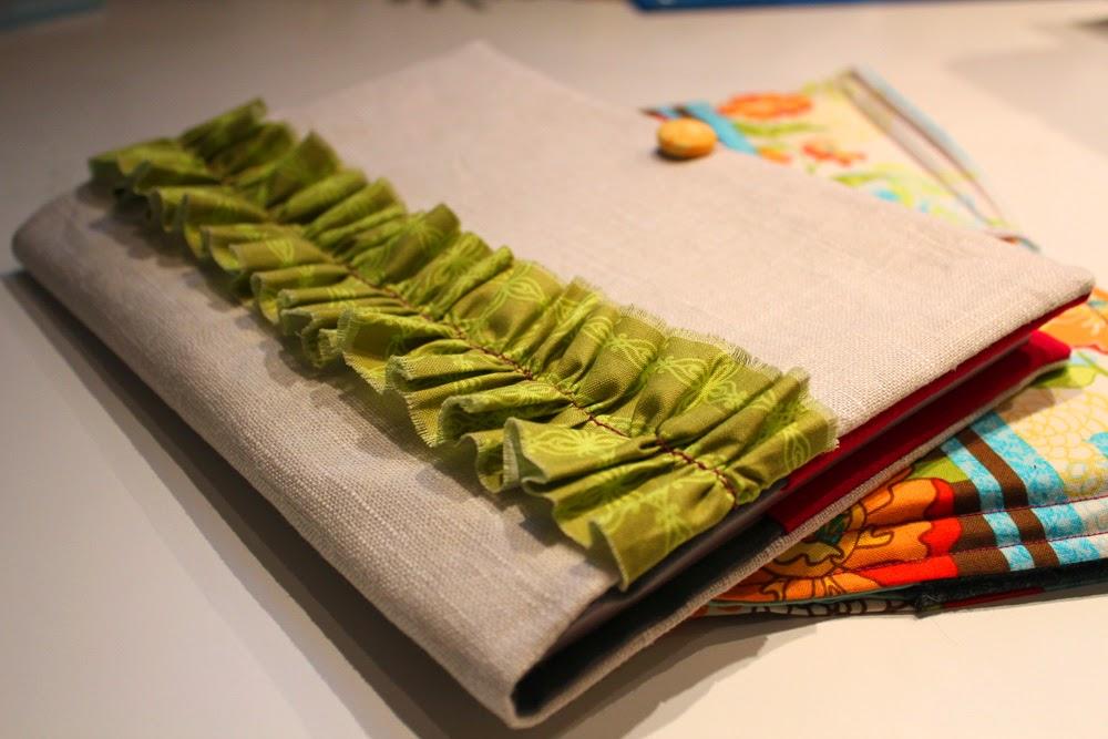 lindas e criativas capas de tecido