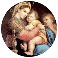 Raphael, Madone à la chaise, Florence