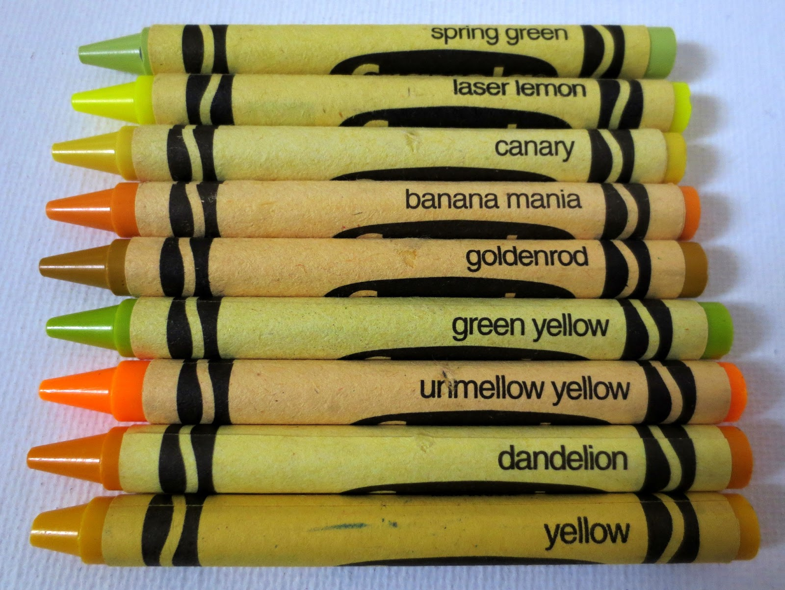 Image result for goldenrod crayon