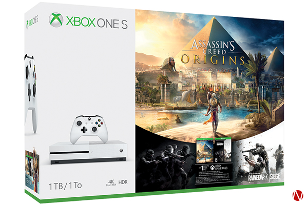 XBOX One S Assasins Creed Origins Bundle