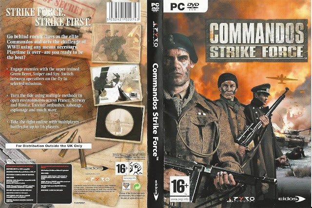 Capa Commandos Strike Force PC