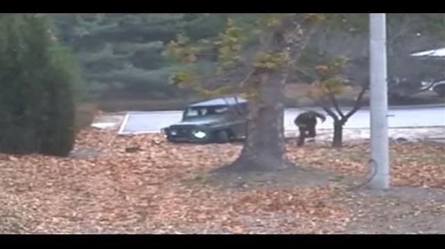 Video Dramatis! Detik-detik Menegangkan Tentara Korea Utara Melarikan Diri Ke Perbatasan Korea Selatan, Lalu Ditembak 5 Kali, Ini Yang Kemudian Terjadi....
