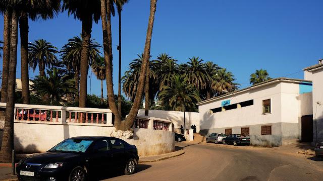 Изображение улочки в Касабланке, Марокко