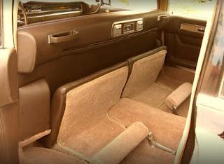 1959 Cadillac Fleetwood Brougham Limousine Seat Interior