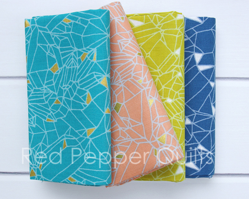 Eureka by Emma Jean Jansen for Ella Blue Fabrics   © Red Pepper Quilts 2017