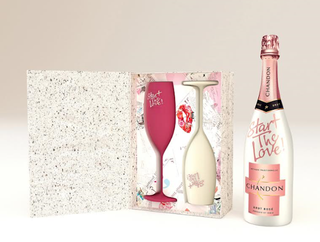 #StartTheLove This Valentine's Day, Chandon makes an impact on your date, a little differently