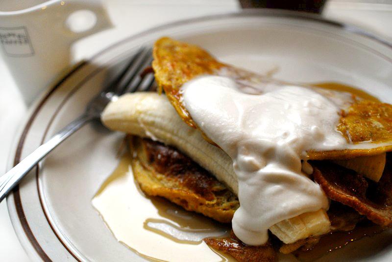 Fit To Blog Paleo Bacon Maple Kumara Pancakes