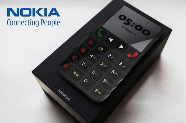 Mô hình điện thoại cho người già của Nokia