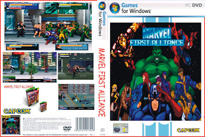 Jogo Marvel First Alliance PC DVD Capa