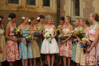 Unique Themes for Bridesmaid Dresses