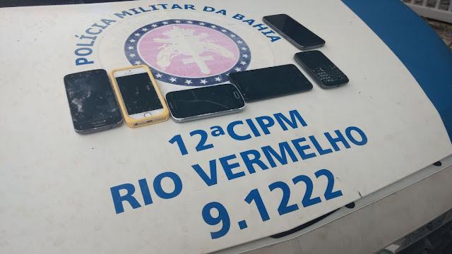12ª CIPM  prende assaltante de ônibus em Ondina