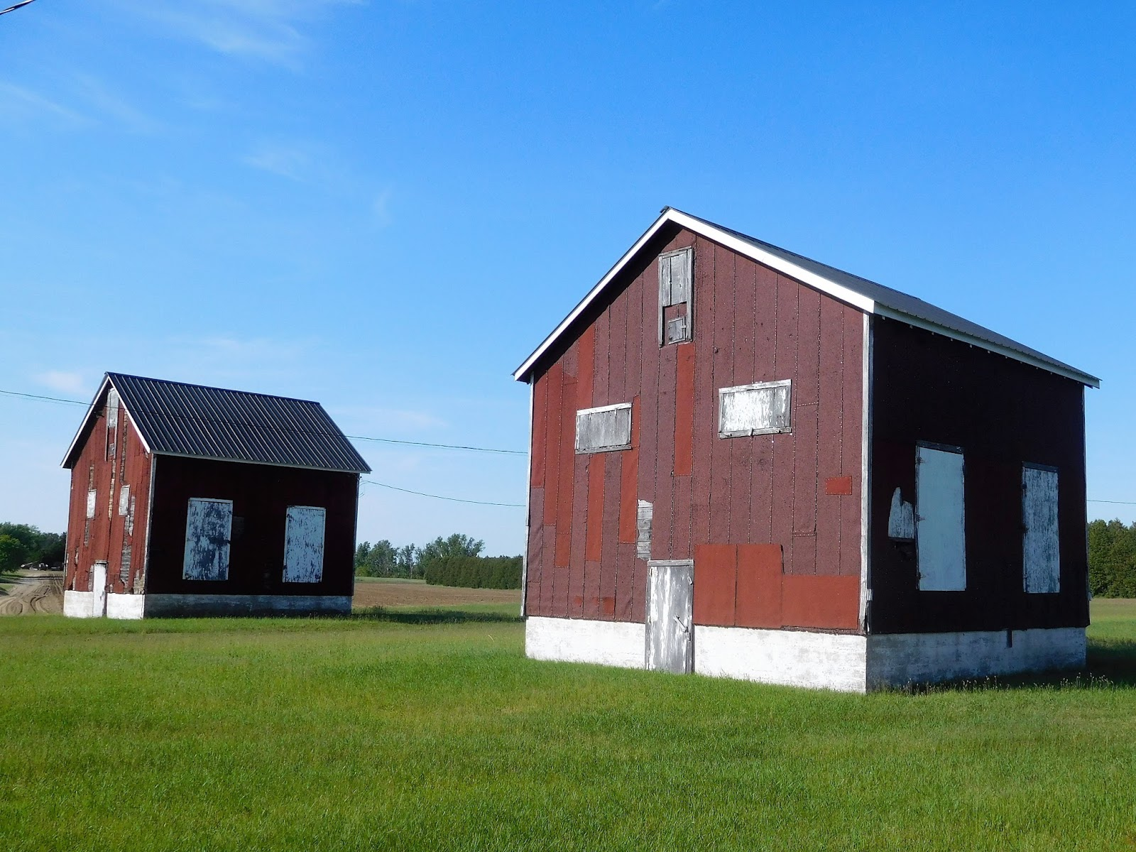 Vicarious Travelling Norfolk County Tobacco Kilns