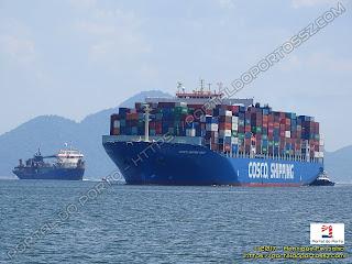 Ham 316 e COSCO Shipping Volga