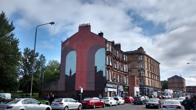 Gallowgate Railway Arch graffiti Glasgow