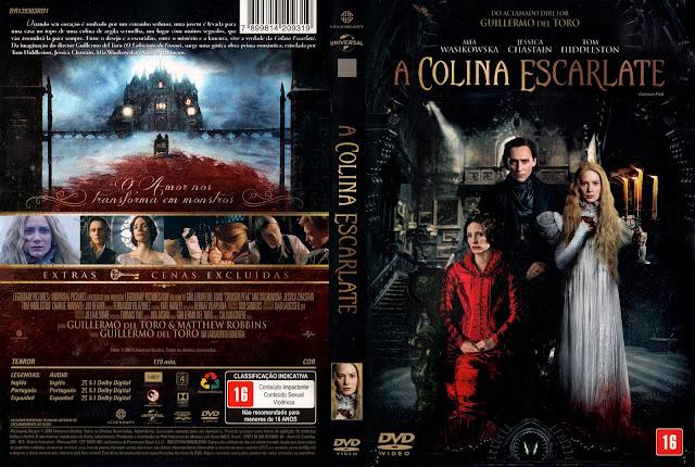 Capa DVD A Colina Escarlate