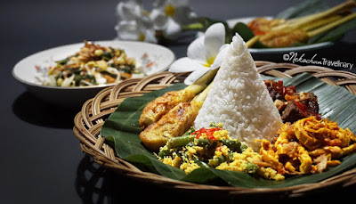 home cooking balinese nasi campur