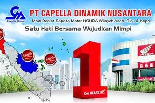 Lowongan PT. Capella Dinamik Nusantara Sudirman Pekanbaru Maret 2019