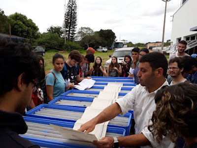 Superintendência de São Paulo oferece aula prática aos estudantes de geologia da Universidade Estadual Paulista