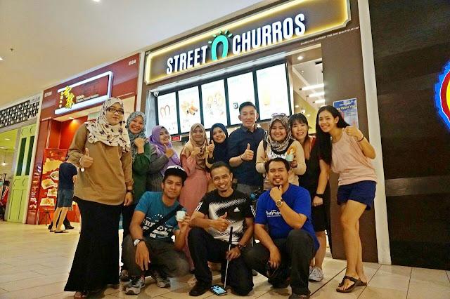 Street Churros Kini Dibuka di IOI City Mall, Putrajaya