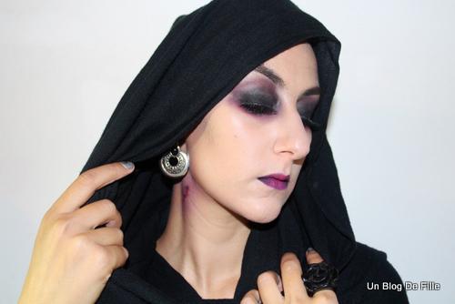 Un blog de fille tuto vid o maquillage d 39 halloween vampire msc pourpre - Maquillage de vampire pour fille ...