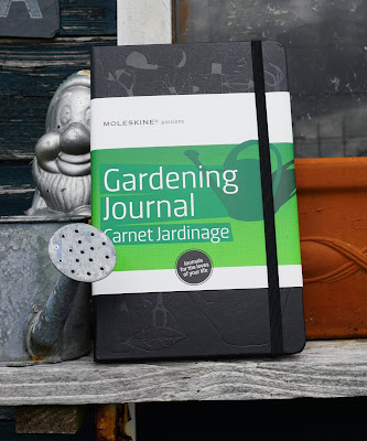 Moleskine Passions Gardening Journal front cover - Carrie Gault 2018