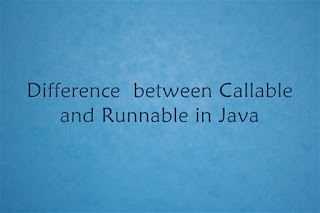 Callable vs Runnable