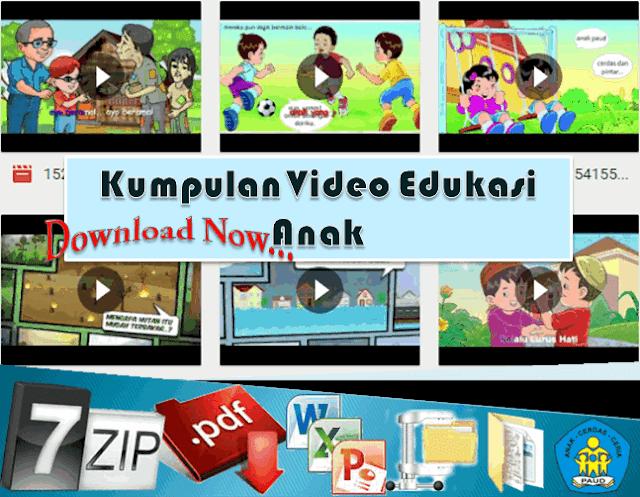 Kumpulan Video Edukasi Anak Usia Dini TK/PAUD/RA/KB/SPS/TPA
